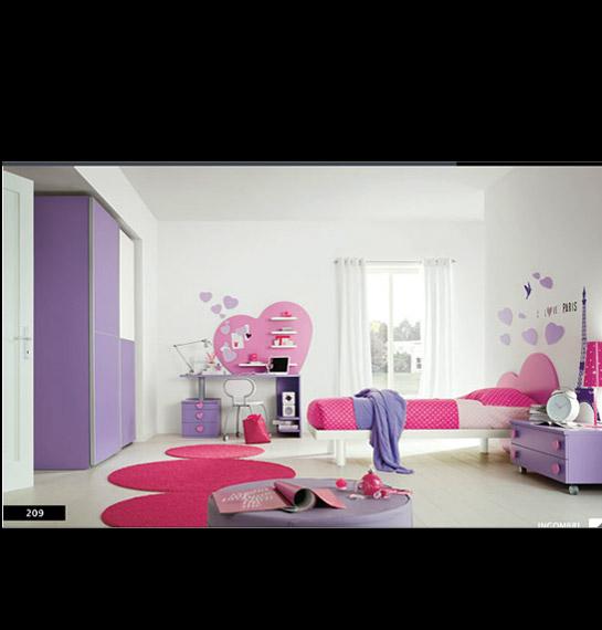 Camere da sogno rosa design casa creativa e mobili ispiratori - Camere da letto moderne per ragazze ...