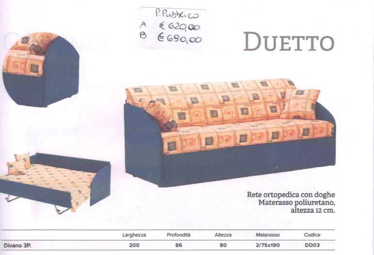 Il sogno materassi di gandini lino c snc scopri i nostri prodotti e visita il nostro punto - Divano letto duetto ...